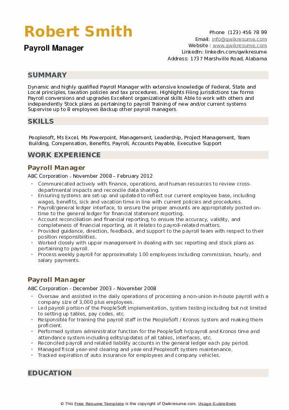payroll manager resume samples qwikresume sample pdf emergency nurse commercial pilot Resume Payroll Manager Resume Sample