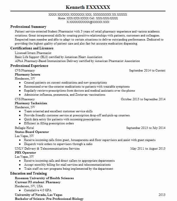 pharmacy intern resume example target cvs technician internship eye catching templates Resume Pharmacy Technician Internship Resume