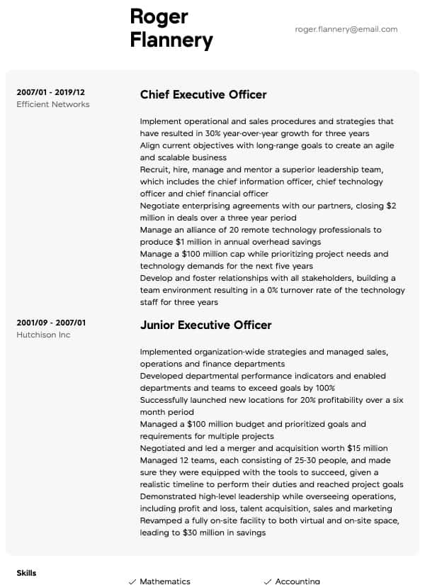 photographer resume samples all experience levels skills for executive thumbnail tax Resume Skills For Photographer Resume