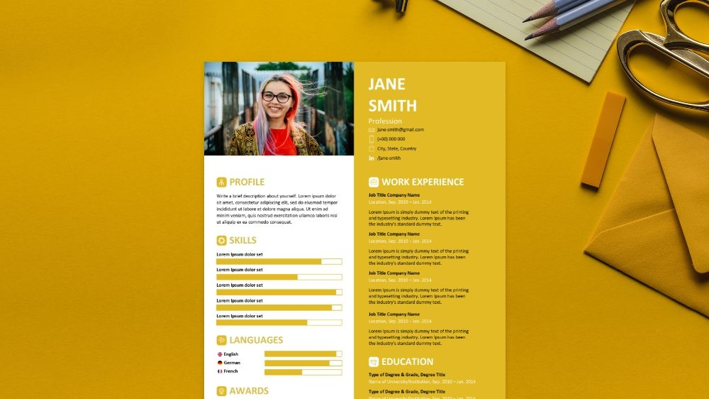 pictorial cv résumé template infographic templates resume lawyer skills executive Resume Pictorial Resume Templates