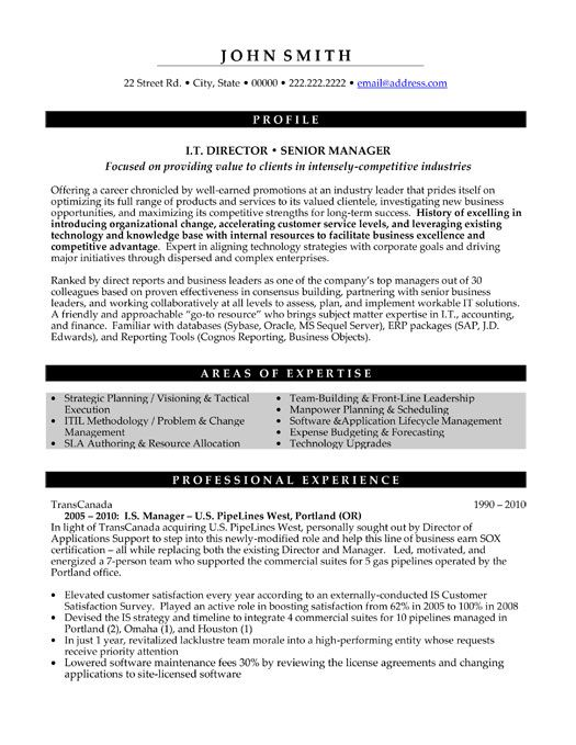 pin by jennifer on best executive resume templates samples manager template good examples Resume Director Resume Samples