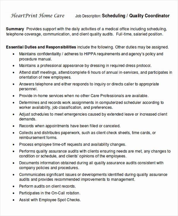 pin on best job description resume for scheduling coordinator financial services summary Resume Resume For Scheduling Coordinator