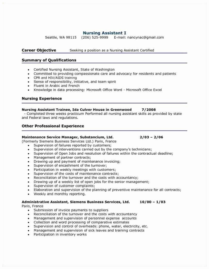 pin on best resume example for entry level certified nursing assistant technical services Resume Entry Level Certified Nursing Assistant Resume