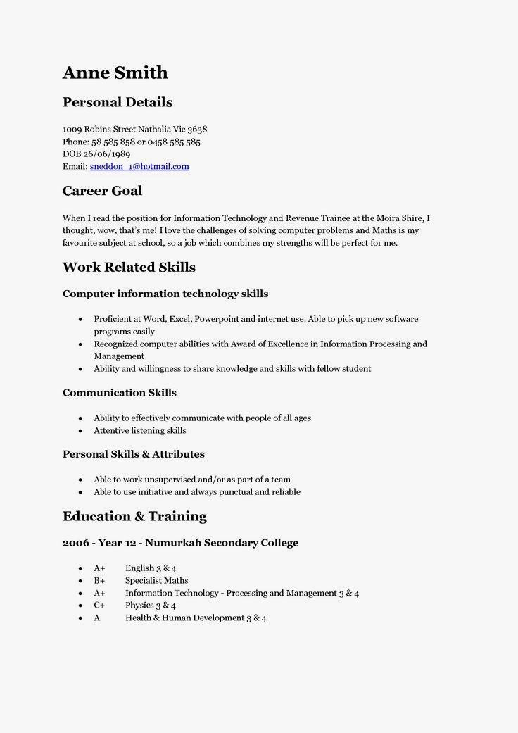 pin on resume examples good for teenager turn your linkedin into sap fiori sample reset Resume Good Resume For Teenager