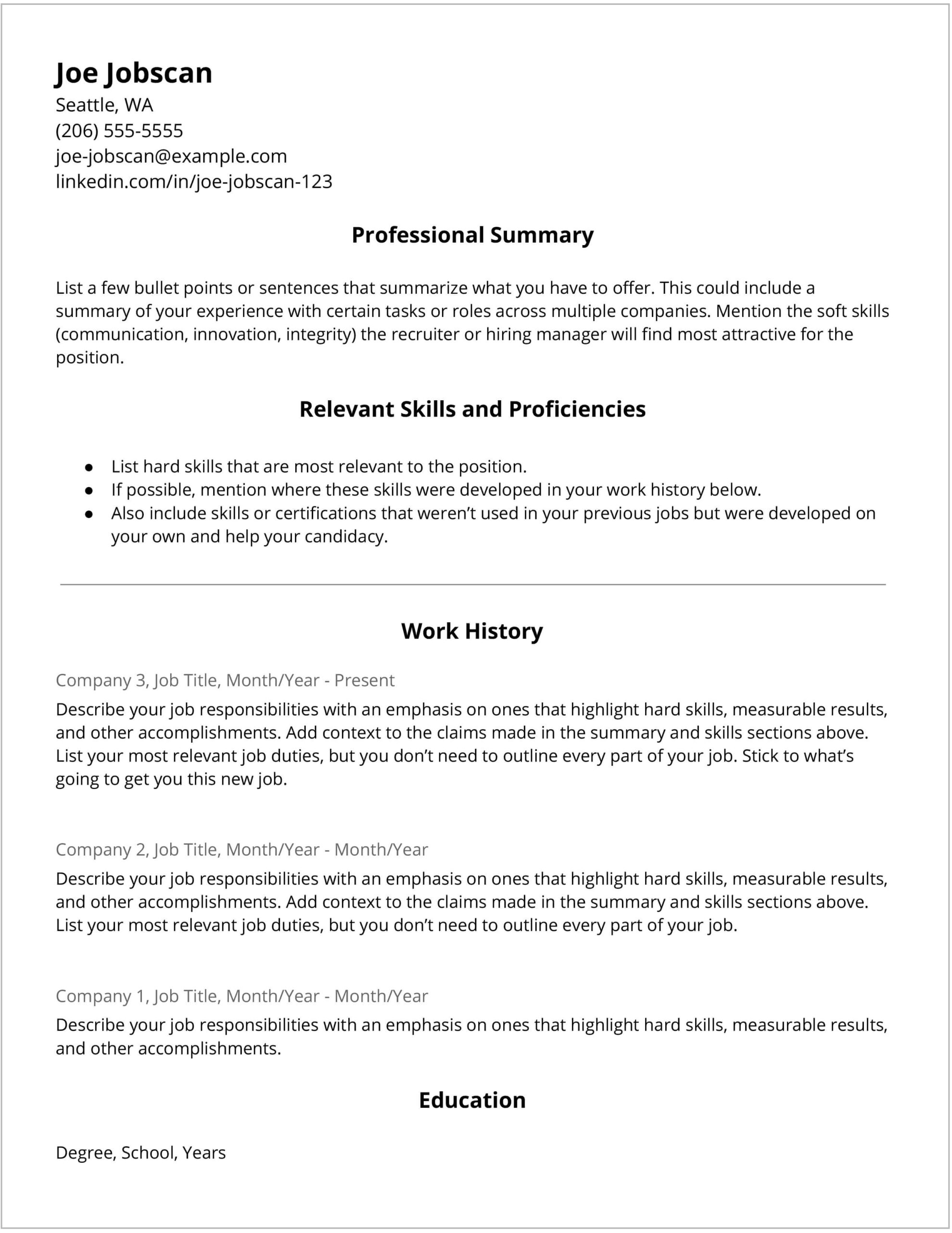 popular resume tips you shouldn follow jobscan blog plain text pros and cons hybrid Resume Plain Text Resume Pros And Cons