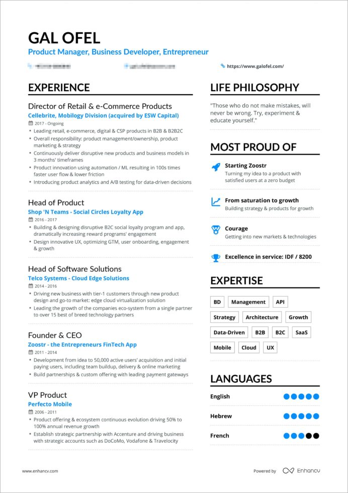powerful one resume examples you can use now great galofelresume bordered investigator Resume Great One Page Resume Examples