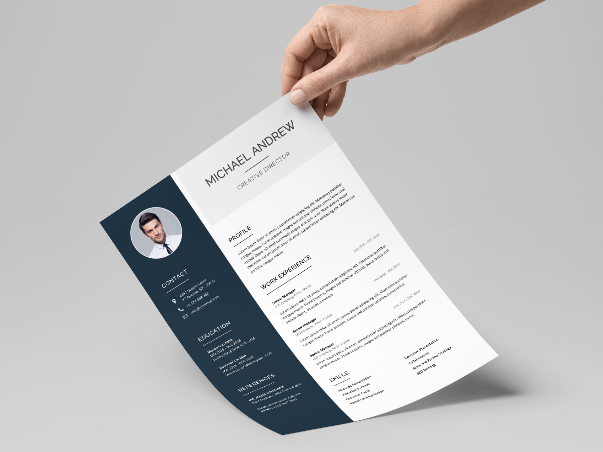premium resume templates resumekraft attractive free prime template indeed won upload emt Resume Attractive Resume Templates Free Download