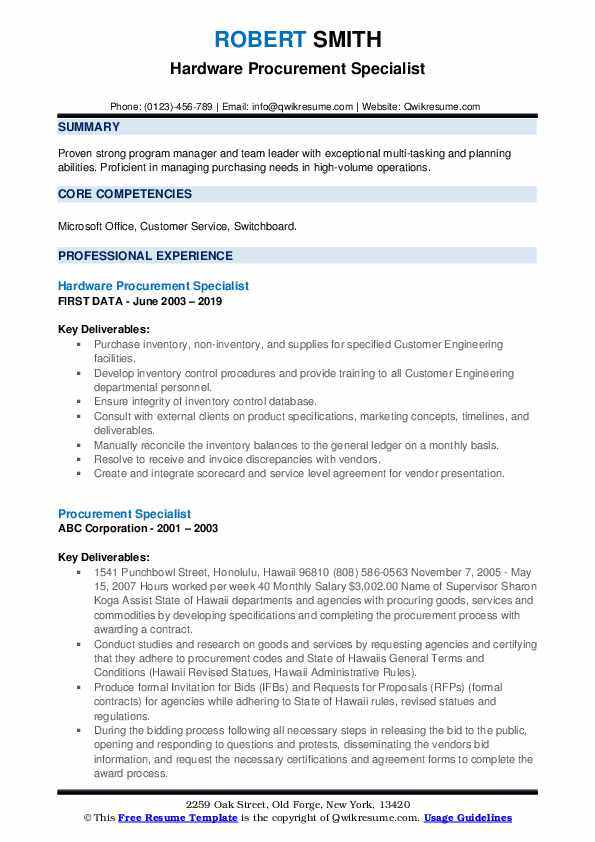 procurement specialist resume samples qwikresume objective pdf externship on for medical Resume Procurement Resume Objective