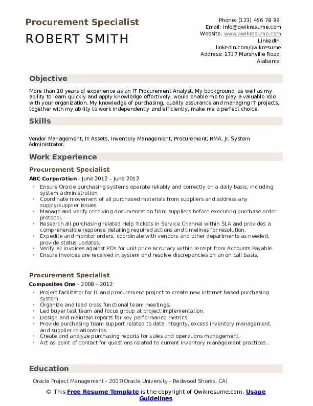 procurement specialist resume samples qwikresume objective pdf freelance technical writer Resume Procurement Resume Objective