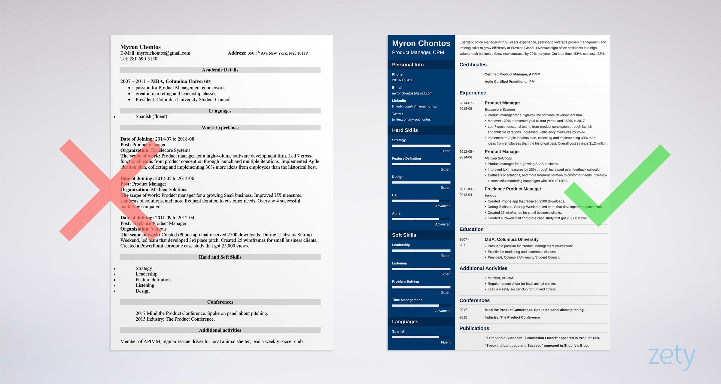 product manager resume examples guide template healthcare sample tools highway supervisor Resume Healthcare Product Manager Resume