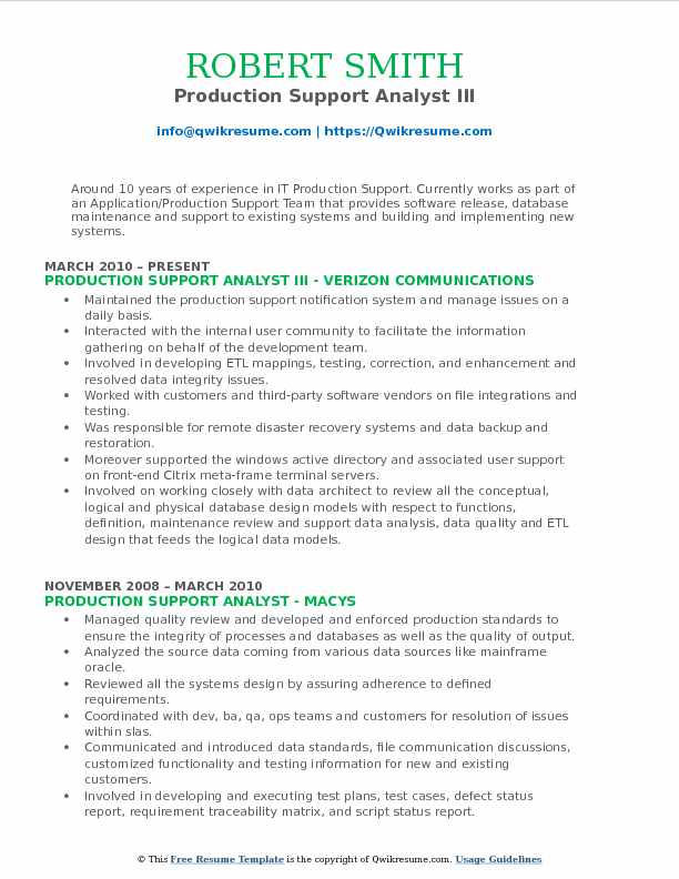 production support analyst resume samples qwikresume sample pdf career consulting now Resume Production Support Analyst Resume Sample
