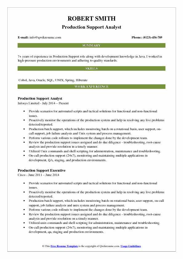 production support analyst resume samples qwikresume sample pdf toledo services mailroom Resume Production Support Analyst Resume Sample