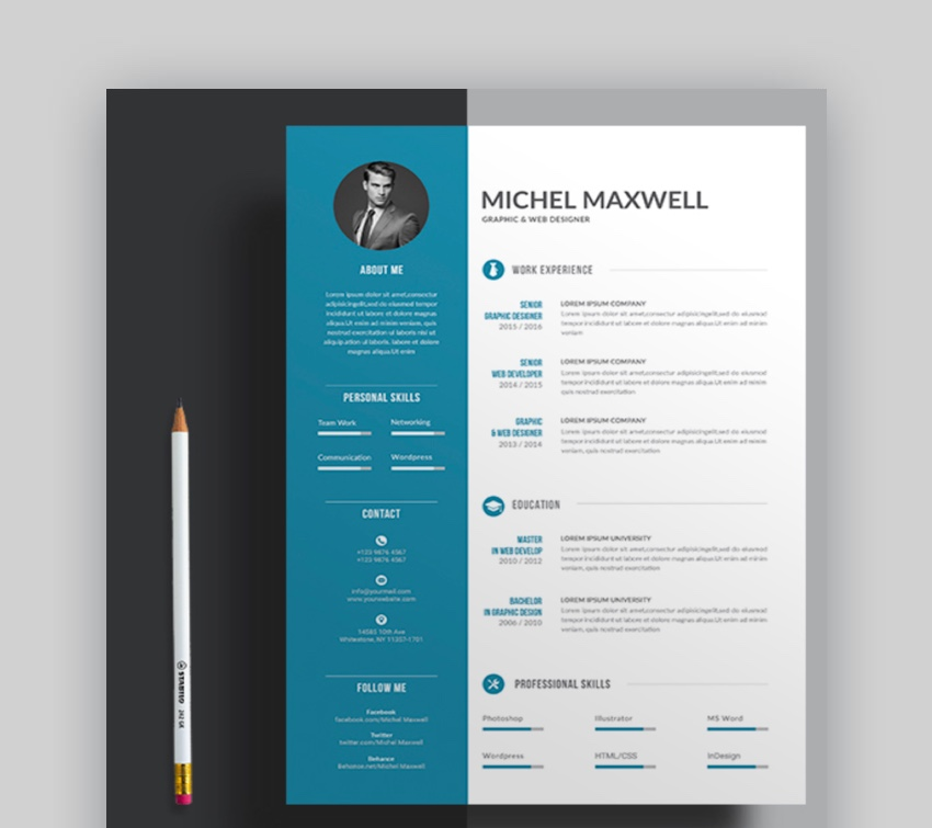 professional ms word resume templates simple cv design formats does have template with Resume Does Word Have Resume Templates