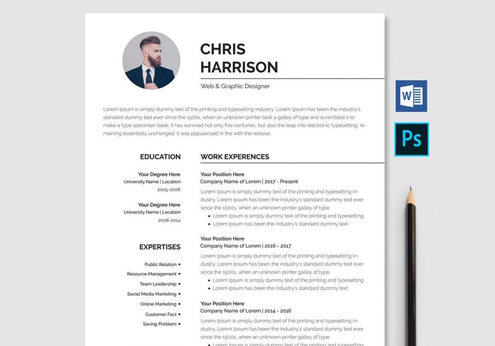 professional resume template word maxresumes free 1000x700 skills for electrician general Resume Professional Resume 2020