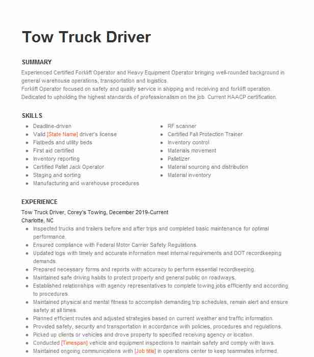 office manager truck dispatcher resume example bp transport trucking las vegas tow plural Resume Tow Truck Dispatcher Resume