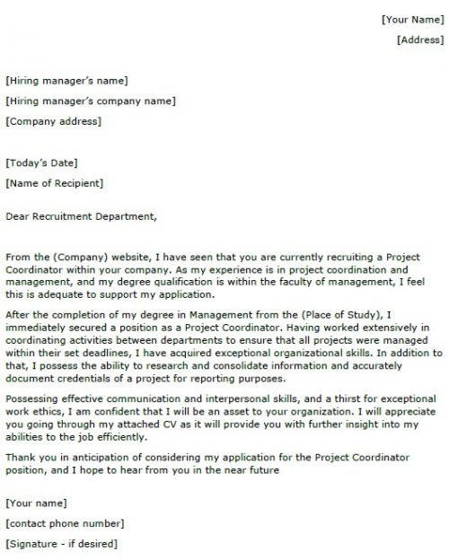project coordinator cover letter example lettercv assistant manager resume clerical job Resume Assistant Project Manager Resume Cover Letter