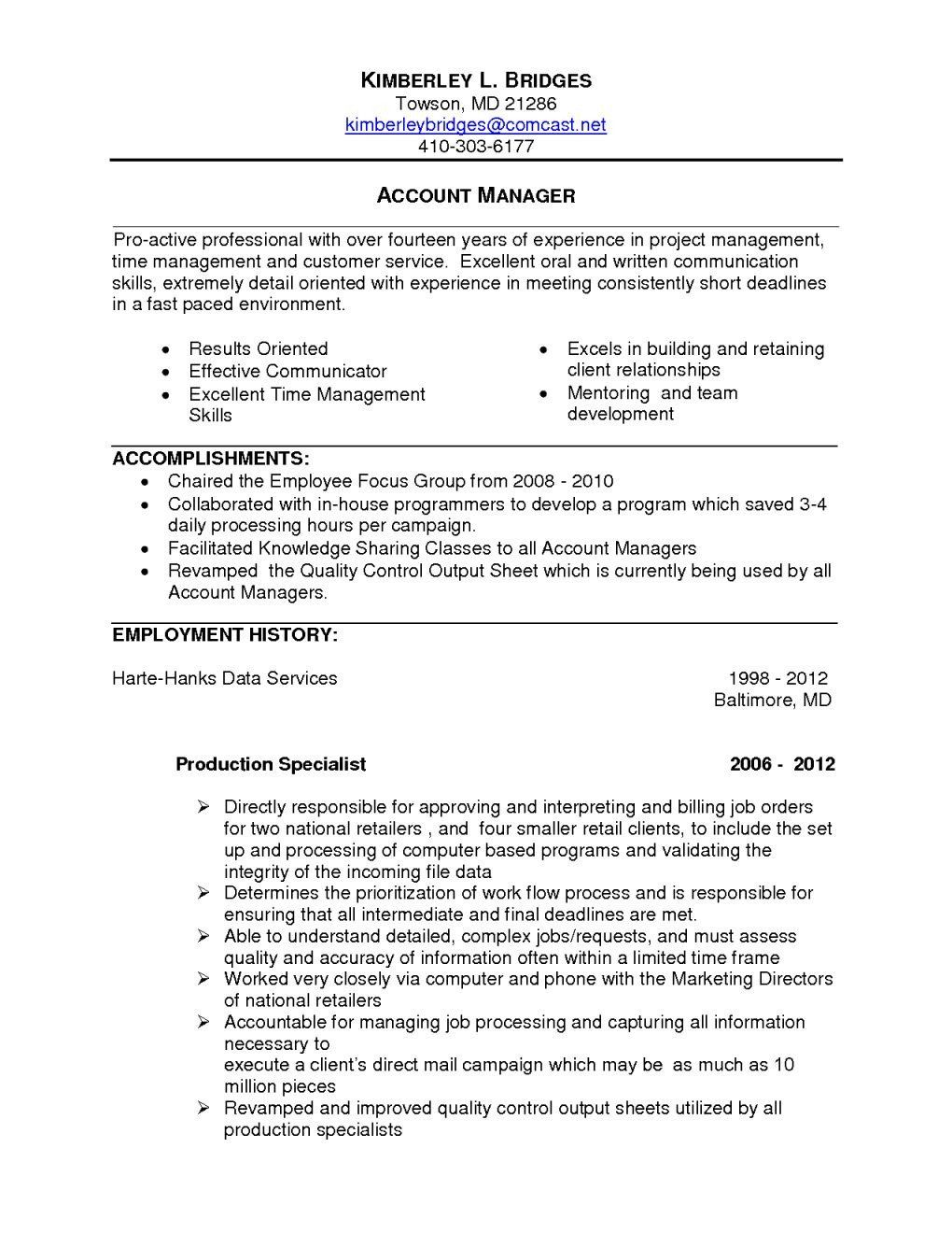 project manager resume summary beautiful examples marketing cool collection job Resume Marketing Resume Summary Examples