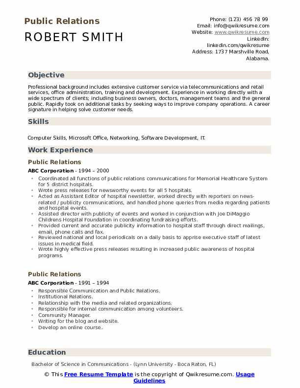 public relations resume samples qwikresume skills pdf hairdresser profile for business Resume Public Relations Skills Resume