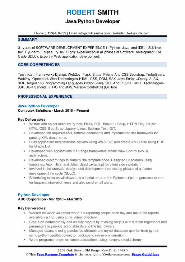 python developer resume samples qwikresume openstack experience pdf tax skills on Resume Openstack Experience Resume