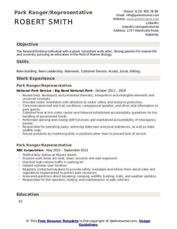ranger resume samples qwikresume objective examples pdf definition pre admission testing Resume Park Ranger Resume Objective Examples