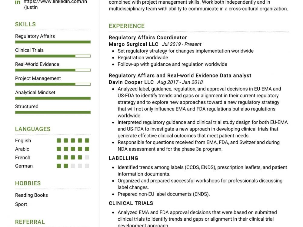 regulatory affairs coordinator sample resumekraft pharmaceutical resume 1000x750 strong Resume Pharmaceutical Regulatory Affairs Resume