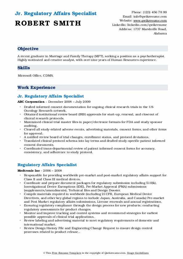 regulatory affairs specialist resume samples qwikresume pharmaceutical pdf great waitress Resume Pharmaceutical Regulatory Affairs Resume