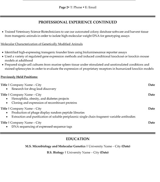 research scientist resume sample template for position p2 biochemistry student quality Resume Resume For Research Position