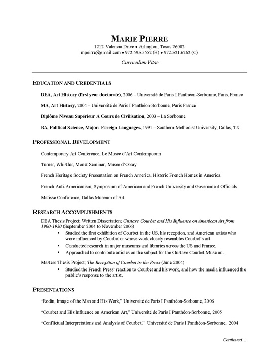 researcher cv example research resume examples example2 for company interview general Resume Research Resume Examples