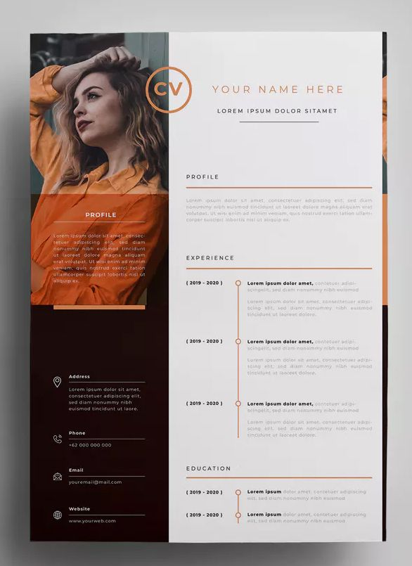 resume design templates by surotype on envato elements graphic creative template size Resume Graphic Design Resume Size