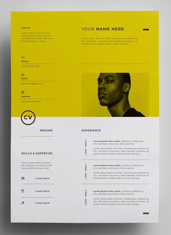 resume design templates graphic creative template size experienced hair stylist Resume Graphic Design Resume Size