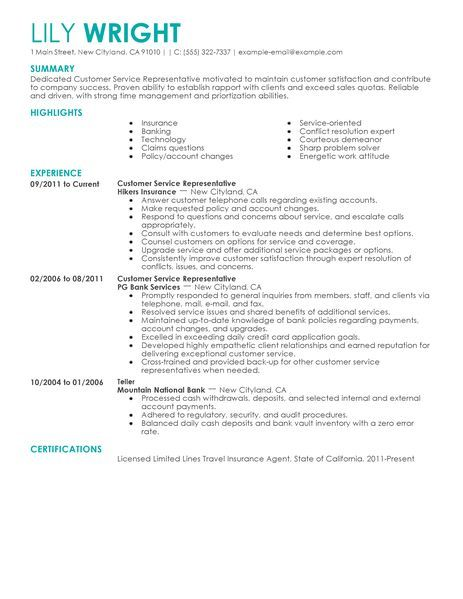 resume examples builder livecareer skills free customer service oncology nurse the Resume Resume Builder Customer Service