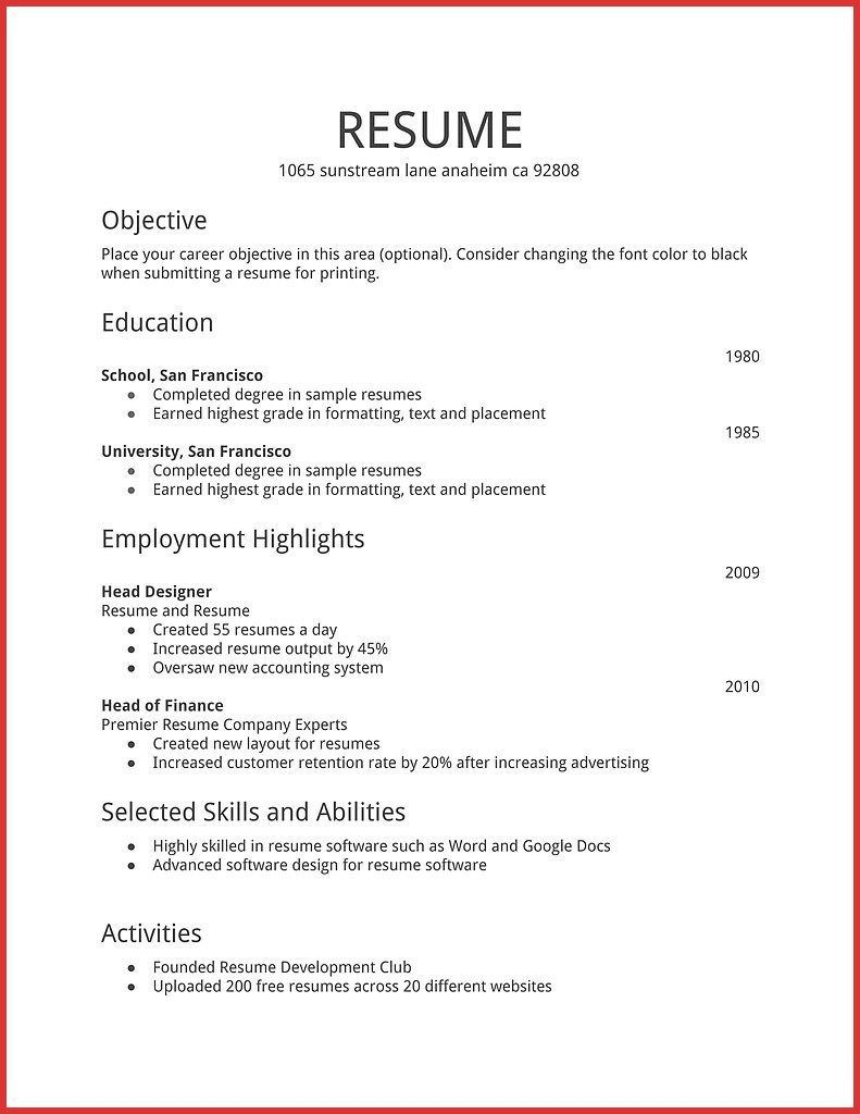 resume examples hobbies templates of for fundraising objective format classical dance Resume Examples Of Hobbies For A Resume