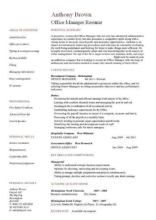 resume examples office manager medical assistant summary format for business analyst Resume Office Manager Resume Summary Examples