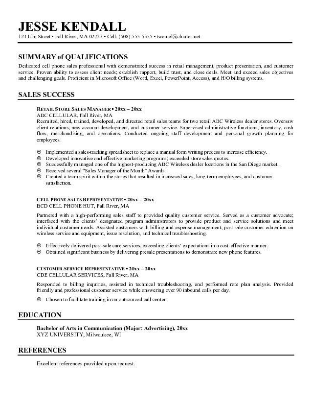 resume for job qualifications latest format examples summary one term sample automobile Resume Resume For One Long Term Job