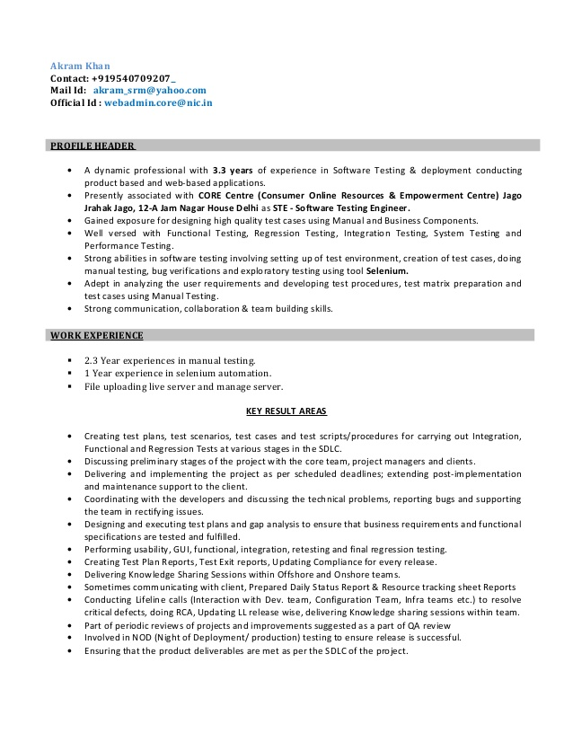resume for software test engineer airs extension entry level airline customer service Resume Software Test Engineer Resume