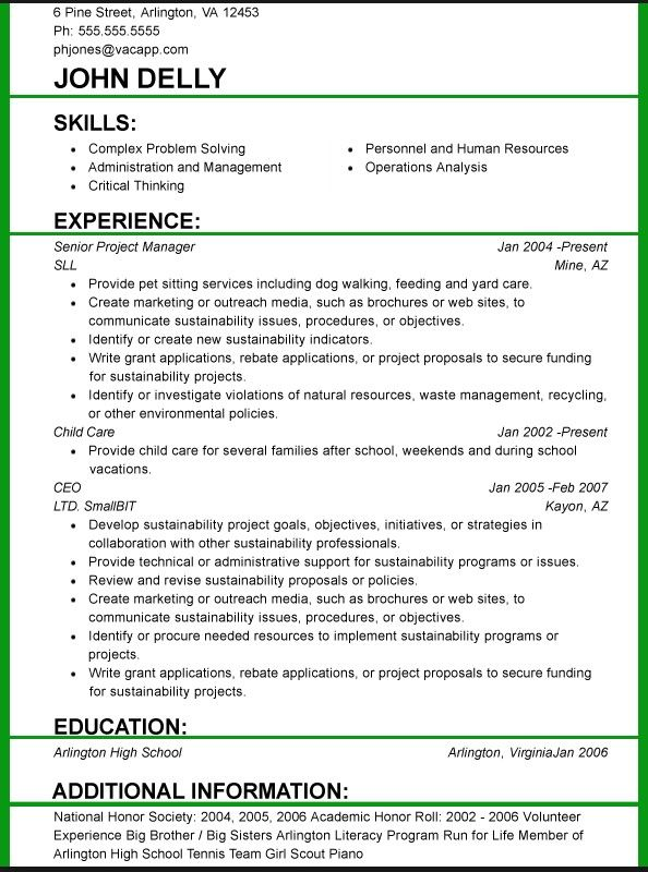 resume format and font size examples functional template correctional officer graphic Resume Resume Format Font Size