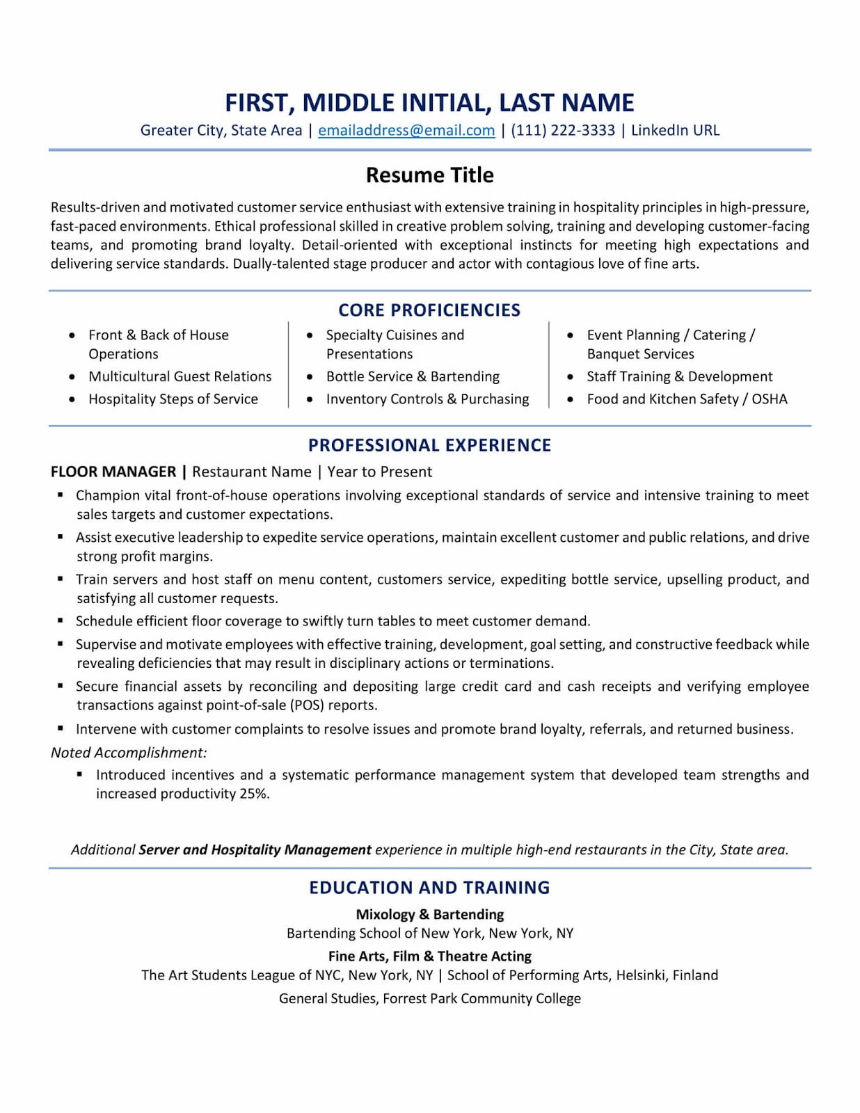 resume format best tips and examples updated current styles samples como hacer un sin Resume Current Resume Styles Samples