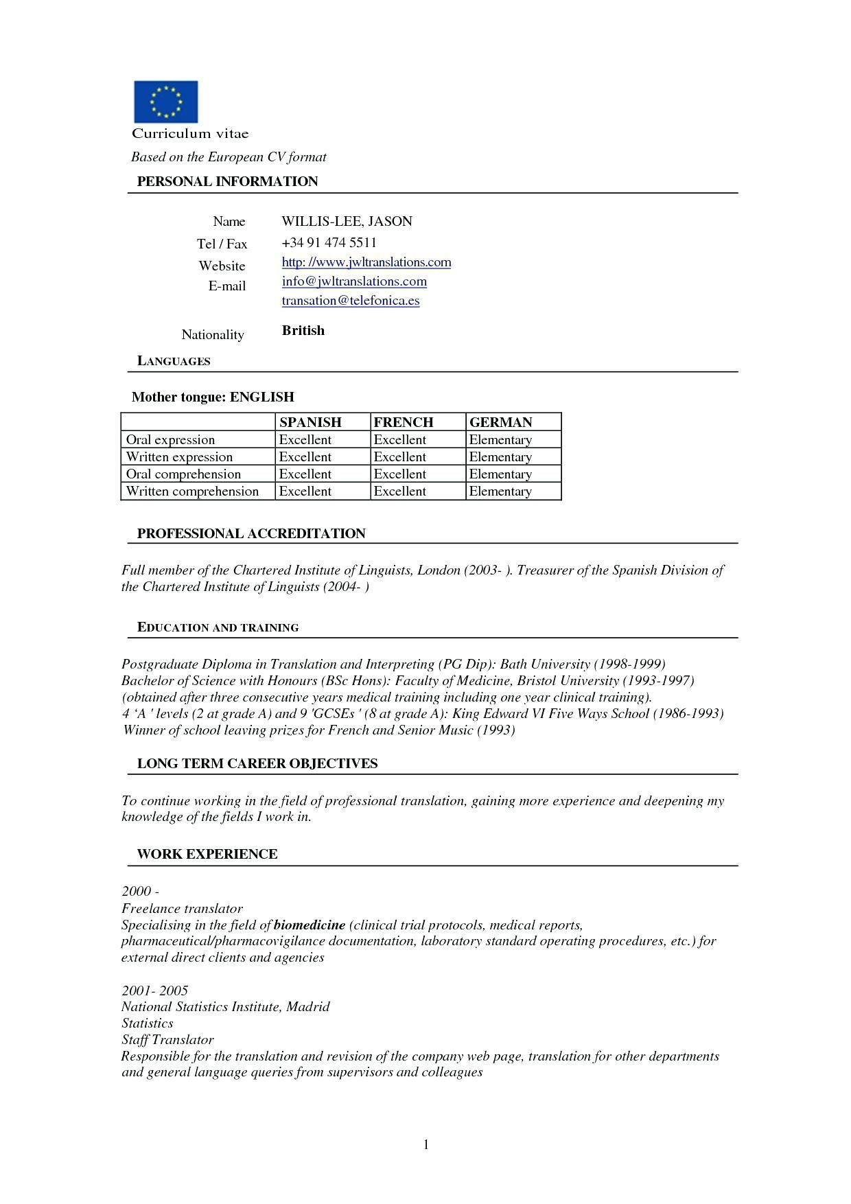resume format for freshers template word templates general office email of submitting bld Resume General Resume Format For Freshers