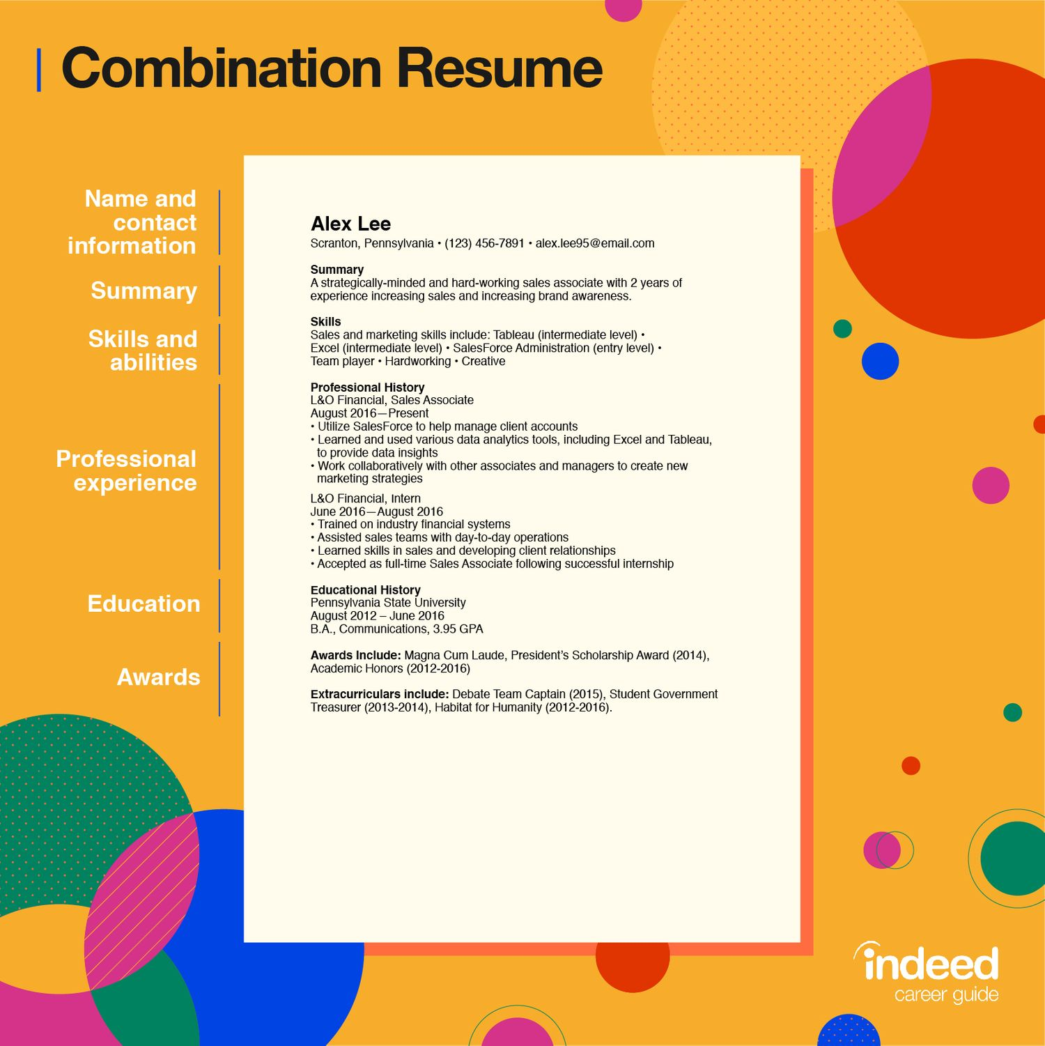 resume format guide tips and examples of the best formats indeed chronological Resume Chronological Resume Traditional Design