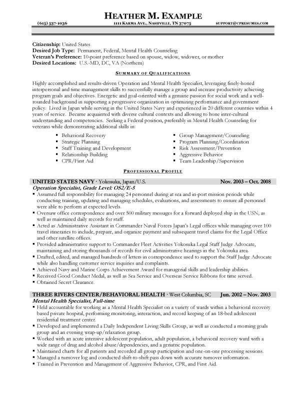 resume format jobs job examples federal template government example make your headline Resume Federal Government Resume Example