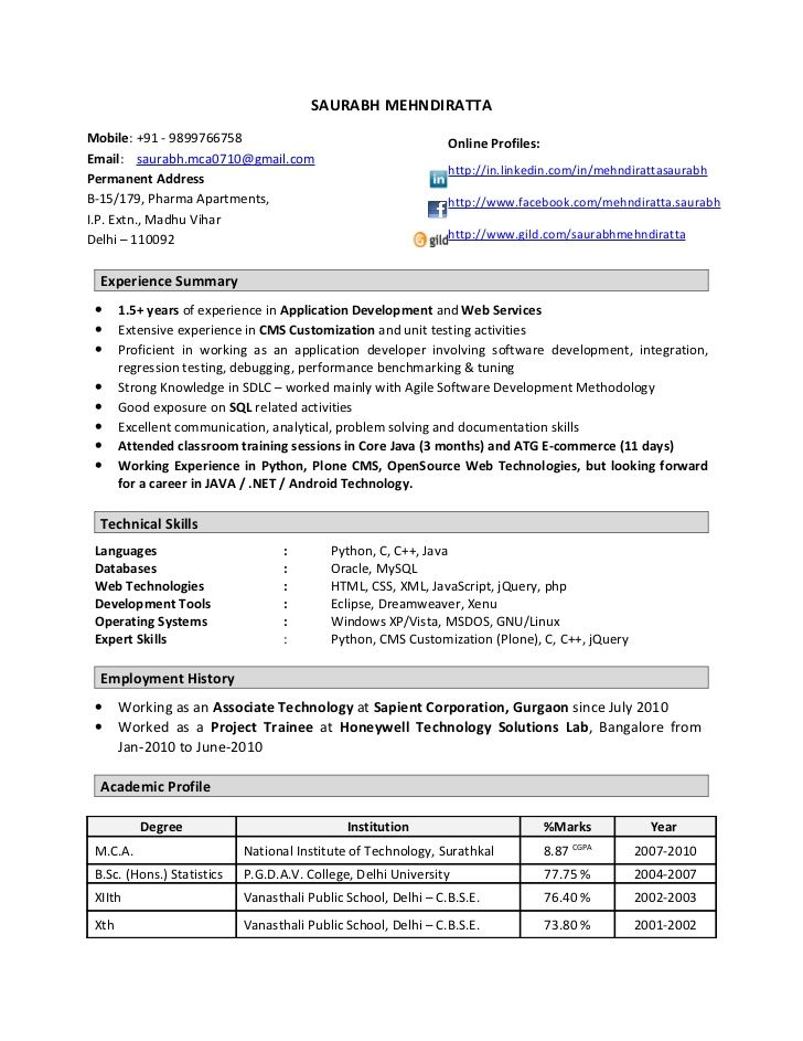 resume format year experienced software engineer examples job pursuing degree example Resume Experienced Software Engineer Resume