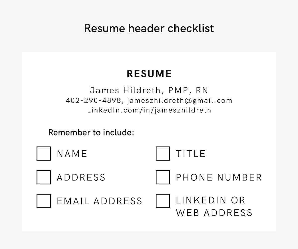resume header examples professional headings middle initial on checklist controller Resume Middle Initial On Resume