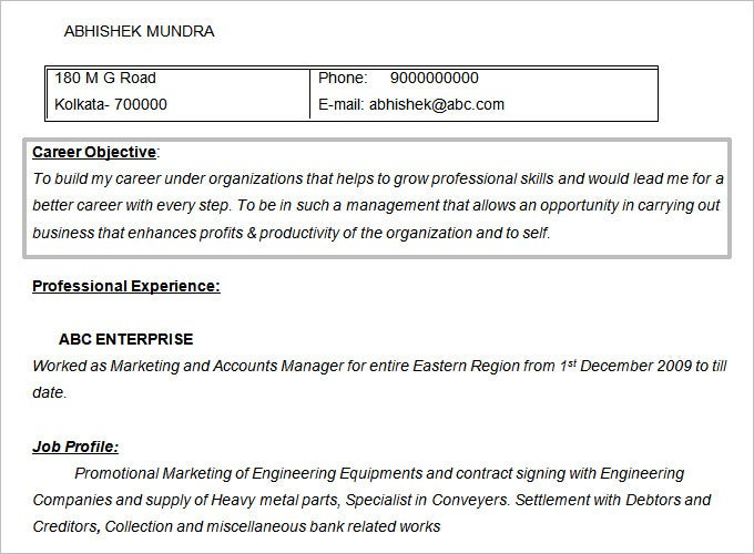 resume objectives pdf free premium templates career objective for mba college sample Resume Career Objective For Resume For Mba College