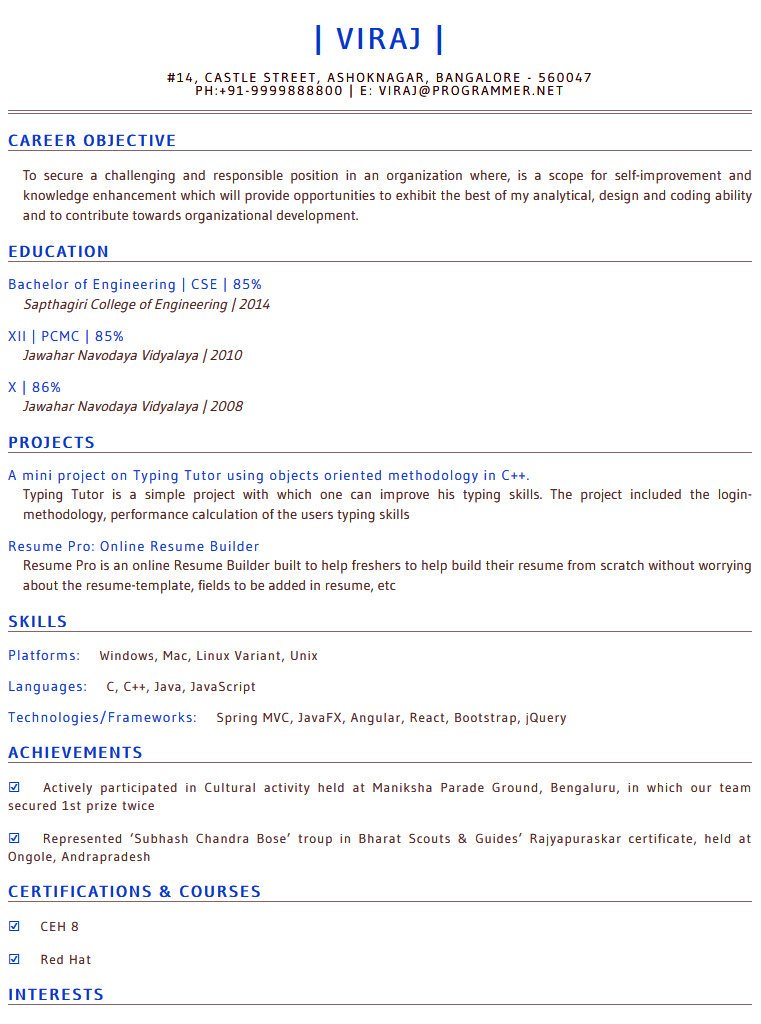 resume pro on and quality completely free for checkout https 2wosx79isi of all available Resume Ceh Resume For Freshers