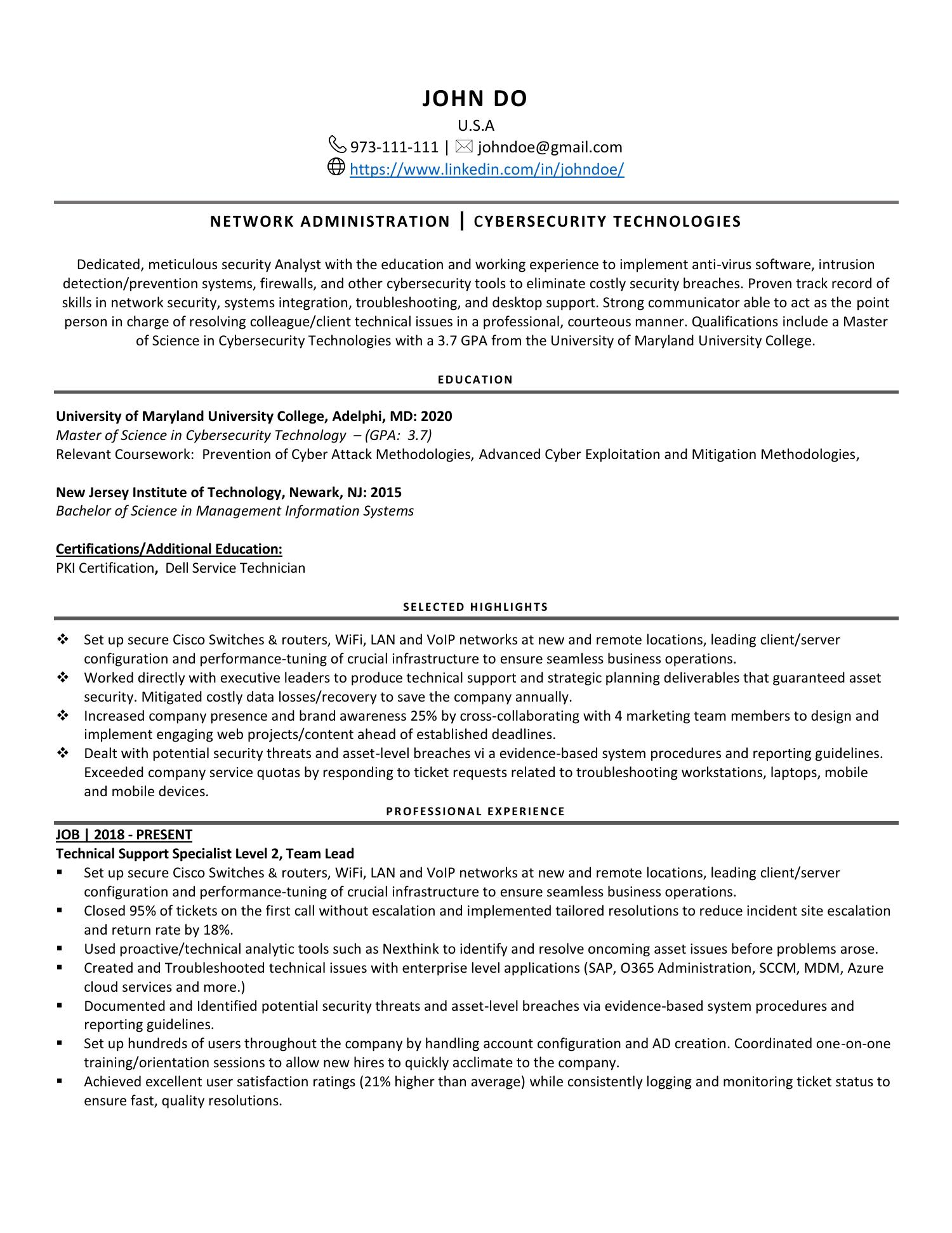 resume reddit docdroid cyber security pdf sample entry level paralegal objective for any Resume Cyber Security Resume Reddit