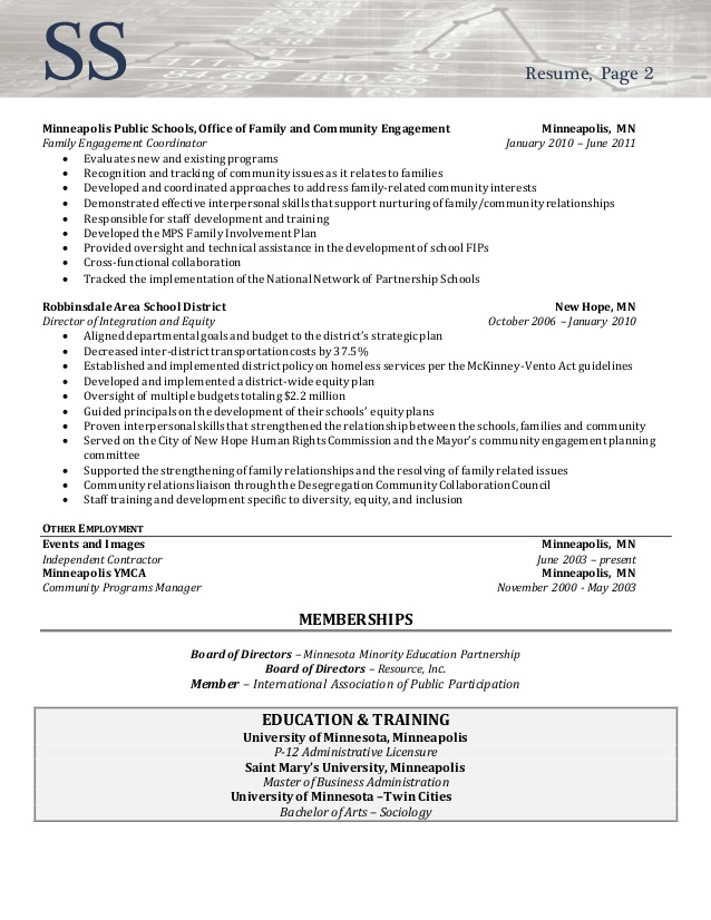 resume sample director of community involvement engagement manager things must have Resume Community Engagement Manager Resume