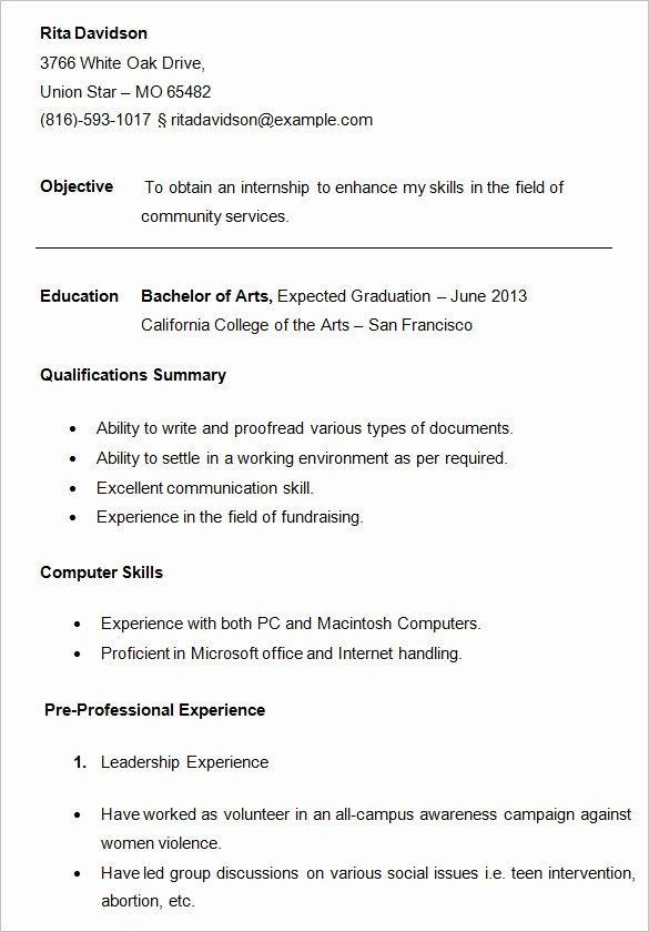 resume samples for college student lovely best sample templates wisestep template Resume Best Resume Templates For Students