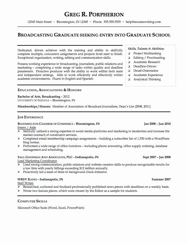 resume template college student lovely sample resumes resumewriting in examples for high Resume College Resume Examples 2020