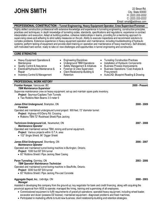 resume template for maintenance supervisor you can it and make your own templates sample Resume Hvac Supervisor Resume Sample