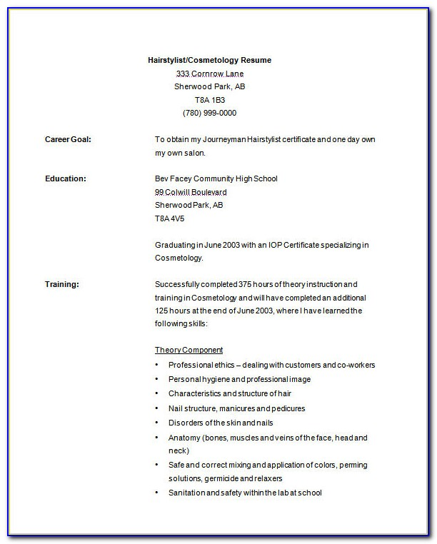 resume templates cosmetology student vincegray2014 template free recreation leader sample Resume Cosmetology Student Resume Template
